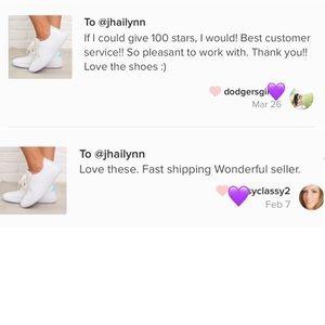 Fabutiq Shoes - HP 🎉  WHITE GLITTER/SPARKLE SNEAKERS !FIRM!